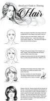 Tutorial: Drawing Hair by AlenaLane