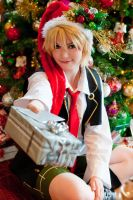 Pandora Hearts: Santa's Helper by JKale