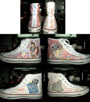 4th doctor who shoes by ArtHritis