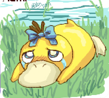 Poor Psyduck :c by nomers-sushi