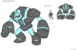 Concept Art of Olaf for Tron:Frozen by MoeAlmighty