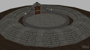 Fighting arena texturing by contmike