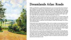 Dreamlands Atlas: Roads by TeamGirl-Differel