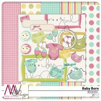 Baby born Mini Kit by MizzKitten21
