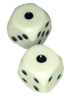 cut out dice by SolStock