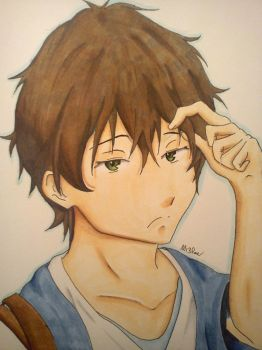 -Hyouka- Houtarou Oreki *After* by M13Roe