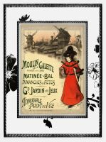 Moulin Matinee Art Deco card by futuregrrl