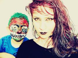 My brother and me lol by JadeTheDark-Assassin