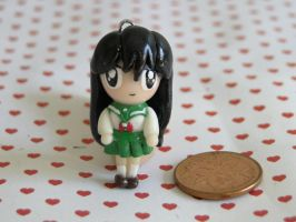 Polymer Clay Kagome Charm by sanxcharms