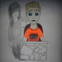 InTheLittleWood PhotoBombing Ghost by Silverbee1