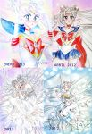 Sailor moon before and after =) by zelldinchit