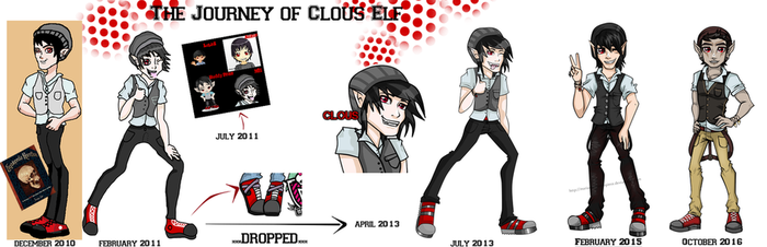 The Journey of Clous by MarianasMasterpiece