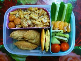 mac n puff bento by plainordinary1