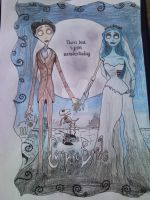 Corpse Bride WIP by mary-DBBC