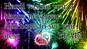 HAPPY NEW YEAR! ALL OF YOU! by Hardii