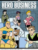 Hero Business, Bruce Timm Style by BillWalko
