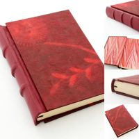 Old Style Journal in Red by GatzBcn