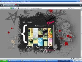 LonelyHime Layout by LonelyDiary