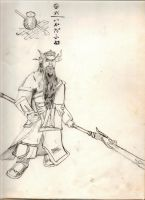 Samurai in anger by PsycoTwinLover