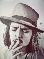 Johnny Depp by giuliabini