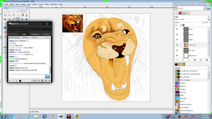 Lion Preview. by INfernoLynx
