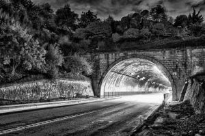 Tunnel in the night by TanBekdemir