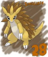 028-Sandslash by PachirisuLuva