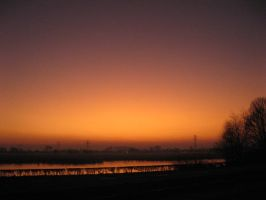 18-02-08 Sunset 3 by Herdervriend