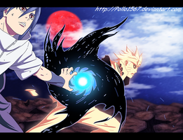 Naruto 641 - Combined attack by pollo1567