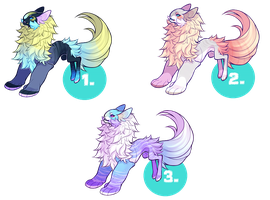Yevren Deer Mutation Adoptables - closed by VanillaToxin