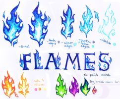 Stylised Flame Tutorial by Lugia-sea