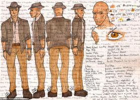 Roland Smithe Reference Sheet + Info by I3-byUsagi