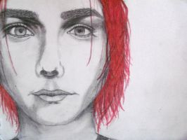 Gerard Way half way there by xitsveronikiox