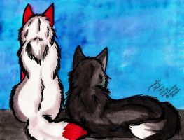 Twizzler and Licorice by Senwolf10
