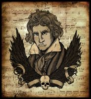 Beethoven by scumbugg