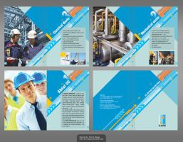 Brochure build by solo-designer