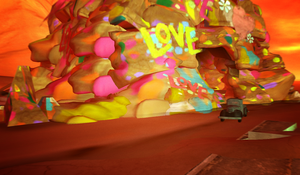 Love Cave and Truck in Tableau by LydiaTremont