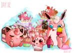Week 2.Pokemon Day 12.Sweet Dessert Party by LaraVell