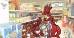 In the dragon's supermarket by RedNightDragon40