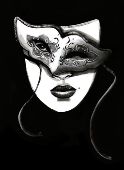 Day 7: The mask behind by Ralenore