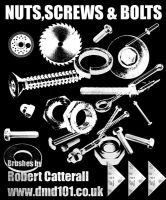 Nuts Bolts and Screw Brushes by robotc