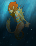 .:Mermaid Sea Dragon:. by Orthgirl123