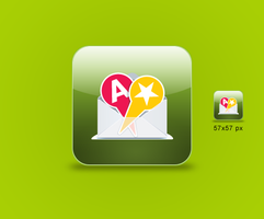iPhone Application icon by 82webmaster