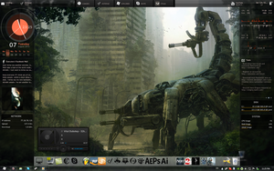 My Desktop Customized by eXecutex