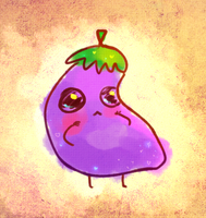 adopt: the kawaii eggplant [closed] by kokotea