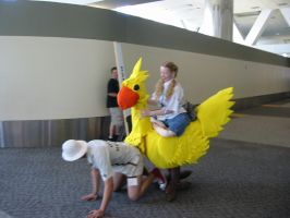 Chocobo's Givin it by thirtyangelsdead