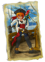 Pirate girl by Acdnoodles