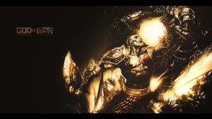 God Of War wallpaper by Rykouy