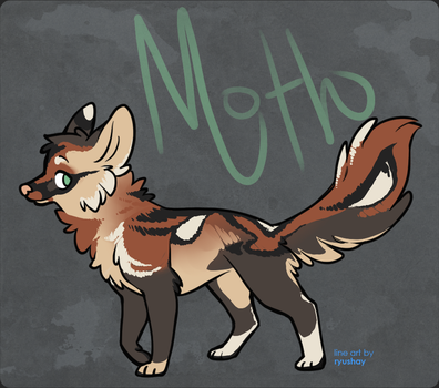 Moth, an actual character... woah. by Crazy-12z