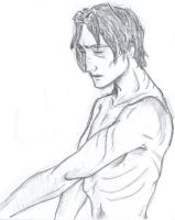 Naked Remus Lupin by Shishkamoosh